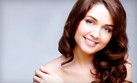 Haircut with Blowdry or Partial Highlights at Phia Salon (Up to 58% Off)