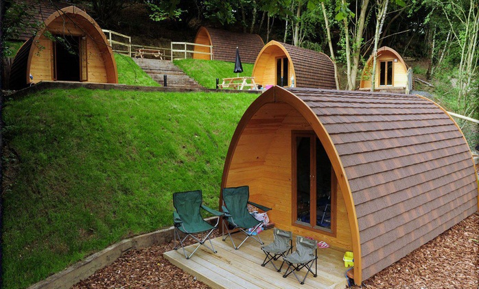 Shropshire: 2-Night Camping Pod Stay for Two; with Option for Dinner at Shropshire Camping & Pods