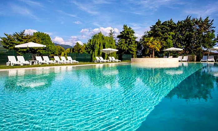 Massa Martana: Umbriaverde Resort & Spa, fino a 3 notti con colazione e ingresso al centro benessere per 2 persone