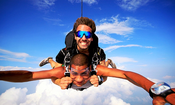 Chicagoland Skydiving Center - Rochelle: $159 for a Tandem Jump at Chicagoland Skydiving Center ($229.99 Value)