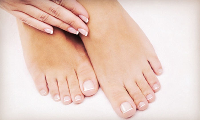 Devon Esthetique - Chadds Ford: Signature or Spa Mani-Pedi at Devon Esthetique (59% Off)