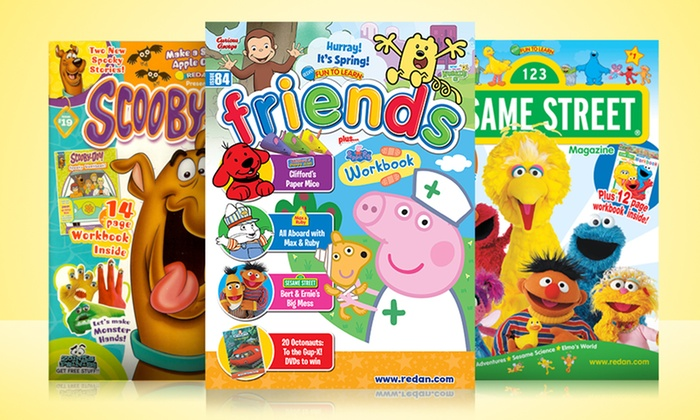 1-Year, 6-Issue Children's-Magazine Subscription: 1-Year, 6-Issue Children's-Magazine Subscription. Multiple Titles Available.