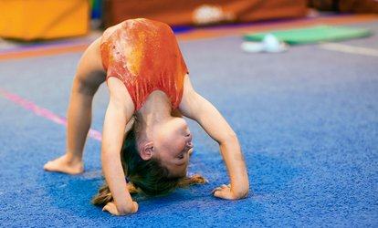 One Month of Boys, Girls, or Mighty Munchkin <strong>Gymnastics</strong> Classes at Eagles <strong>Gymnastics</strong>, A Kid's Activity Center