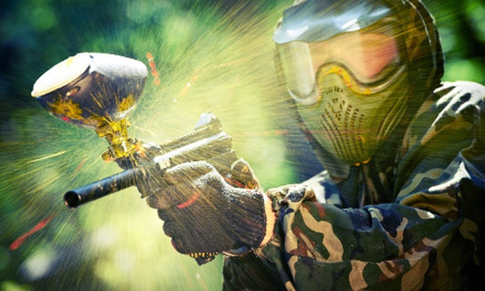 Austin Paintball - Dripping Springs-Wimberley: $29 for a Paintball Outing for Two with Admission, Gear, Paintballs, and Unlimited Air at Austin Paintball ($60 Value)