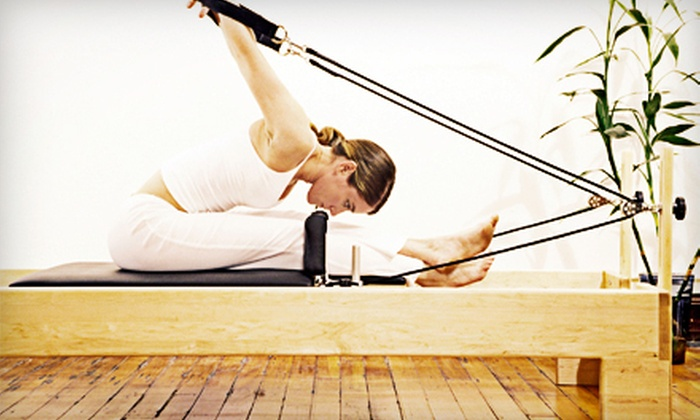 Pilates Space Florida - Boca Raton Hills: Four or Eight Reformer and Tower Classes, or Two Private Intro Classes at Pilates Space Florida (Up to 76% Off)