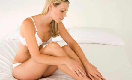 $189 for One Year of Unlimited Laser Hair Removal for Up to Three Body Parts at Unveil Salon & Spa (Up to $3,200 Value)