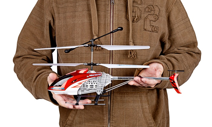 Hercules RC Helicopter: Hercules Unbreakable RC Helicopter in Blue, Red, or Silver. Free Returns.