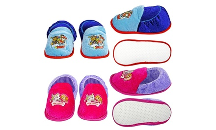 Paw Patrol Slippers for Boys or Girls for £4.99
