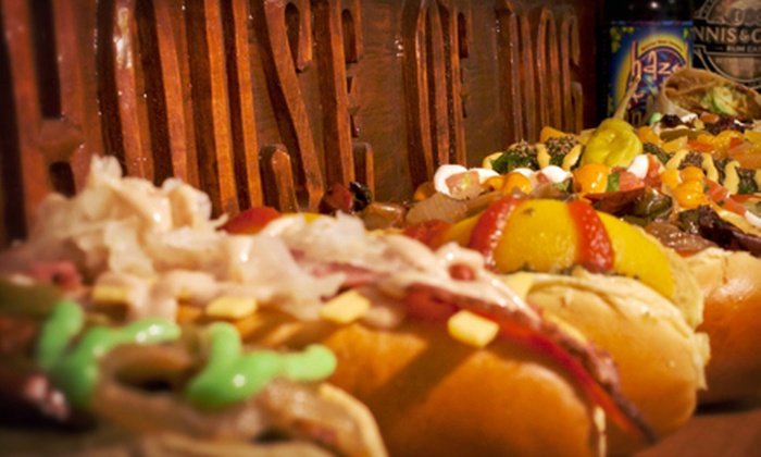 House of Dog - Miami Beach: Hot Dogs, Burgers, and Wraps for Dinner at House of Dog