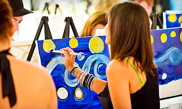 Canvas and Cheers - The Marketplace at Seminole Towne Center: 1 Guided BYOB Painting Class (a $48 value)