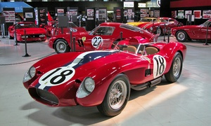 San Diego Automotive Museum: San Diego Automotive Museum Visit for Two Adults, Two Adults and Two Kids, or Four Adults (Up to 53% Off)