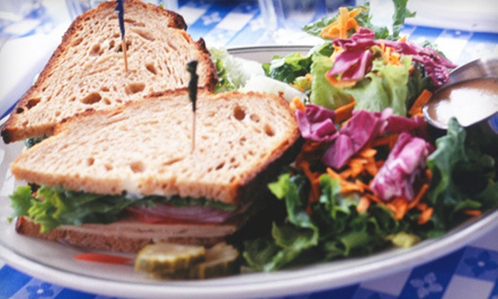 Two Olives Cafe - Moore: Café Fare for One or Two at Two Olives Café in Moore (Half Off)