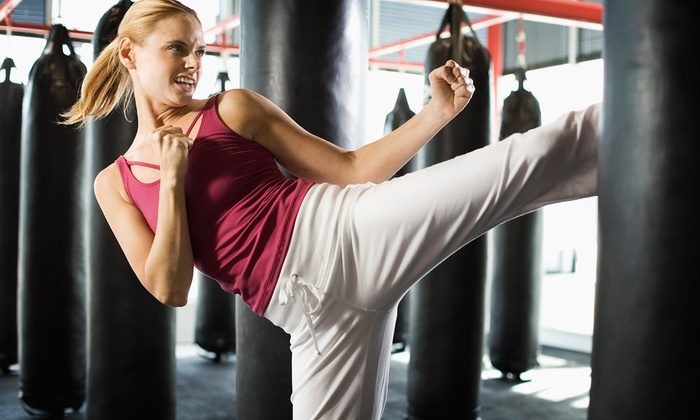 Seigler's Karate Center - Martinez: One Month of Unlimited Cardio-Kickboxing Classes with Gloves for One or Two at Seigler's Karate Center (Up to 63% Off)
