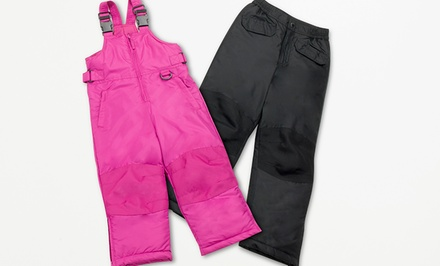iXtreme Unisex Snowpants and Snowbibs for Kids. Multiple Styles Available.