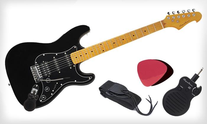 Electric-Guitar Set | Groupon Goods