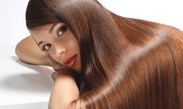 QT Styles - Greenwood Forest: One, Two, or Three Keratin Hair-Straightening Treatments at QT Styles (Up to 63% Off)