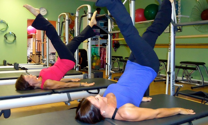 Pilates Plus - Bonita Springs: Two Private Pilates Classes with Group Classes at Pilates Plus (Up to 59% Off)
