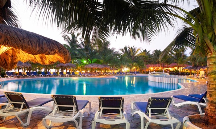 Viva Wyndham Tangerine Stay with Airfare from Travel by Jen - Dominican Republic: All-Inclusive Viva Wyndham Tangerine Trip w/ Airfare. Includes Taxes & Fees. Price Per Person Based on Double Occupancy.