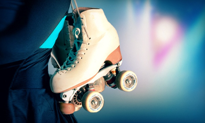 Skateland - Midtown,Dawson: Roller Skating for Two or Four with Skate Rental at Skateland (Up to 62% Off)