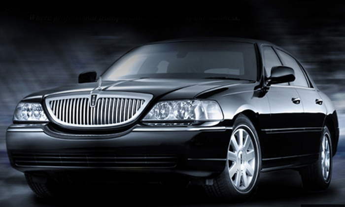 Cornerstone Elite Limousines - Houston: $49 for One-Way Chauffeured Car Service to or from the Airport from Cornerstone Elite Limousines (Up to $125 Value)