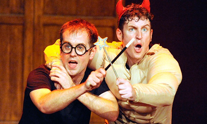 """""""Harry Potter"""" Parody """"Potted Potter"""" - Millville: $38 for """"Harry Potter"""" Parody """"Potted Potter"""" at The Levoy Theatre on January 23 at 7:30 p.m. (Up to $75 Value)"""