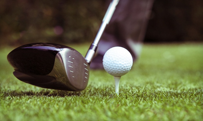 Adobe Dam Family Golf Center - Deer Valley: Nine-Hole Round of Golf with Pull Carts for Two or Four at Adobe Dam Family Golf Center (Up to 56% Off)