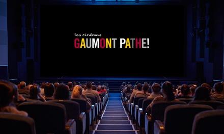 1 ou 2 places Gaumont Pathé valables 1 mois ou 3 mois à partir de 5,90 €