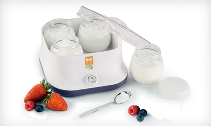 Artisan Yogurt Maker: $15 for a Baby Chef Artisan Yogurt Maker ($29.99 List Price)