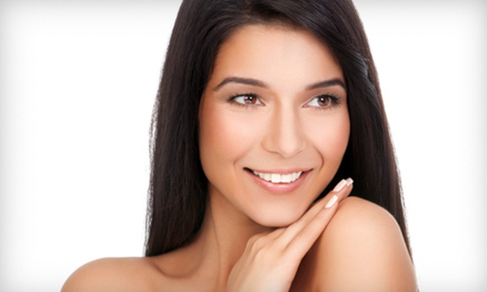 Dazzles Salon - Hackensack: $119 for a Keratin Hair-Straightening Treatment at Dazzles Salon (Up to $500 Value)