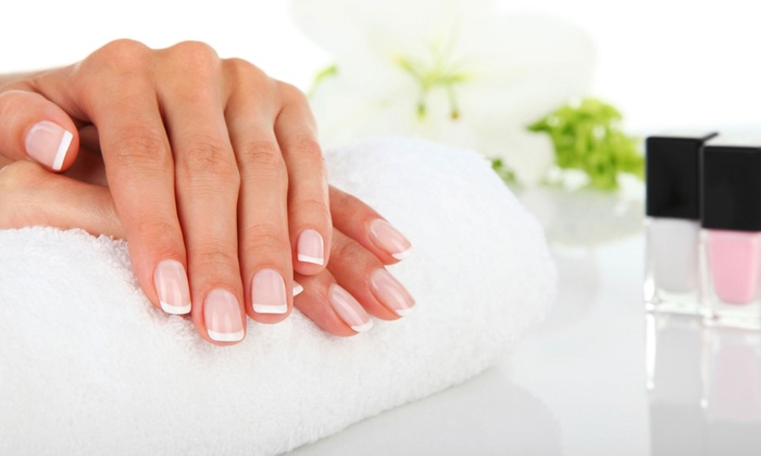 Quince Spa - Potrero: One or Two No-Chip Vinylux Manicures or One Vinylux Mani-Pedi at Quince Spa (Up to 40% Off)