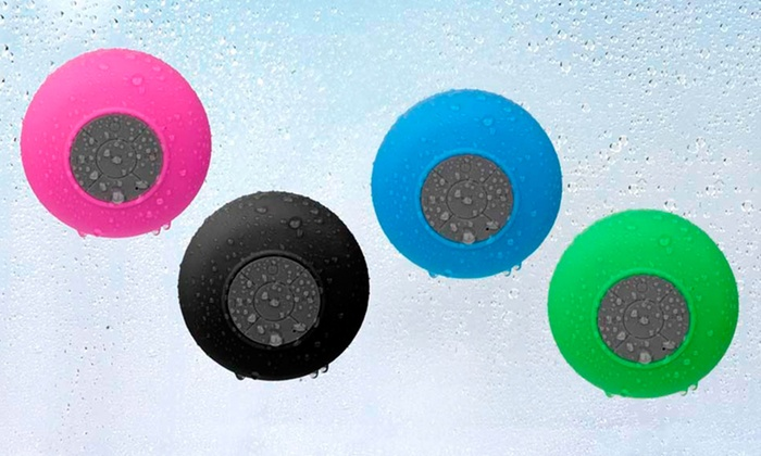 Merkury Innovations Bluetooth Shower Speaker with Mic : Merkury Innovations Bluetooth Shower Speaker with Mic. Multiple Colors Available. Free Returns.