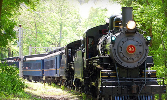Wilmington & Western Railroad - Lower Christiana: 90-Minute Mt. Cuba Meteor Train Ride for One or Two Adult-Child Pairs at Wilmington & Western Railroad (Up to 56% Off)