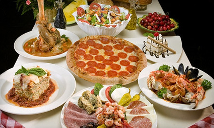 Frankie, Johnnie & Luigi Too! - Multiple Locations: $15 for $30 Worth of Italian Cuisine for Two or More at Frankie, Johnnie & Luigi Too!