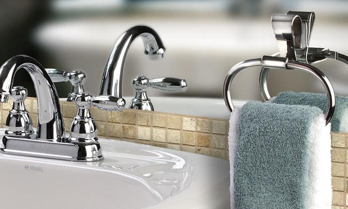 Griipa Stainless Steel Bathroom Accessories: Griipa Stainless Steel Bathroom Towel Bar or Towel Ring. Multiple Designs from $10.99–$17.99. Free Returns.