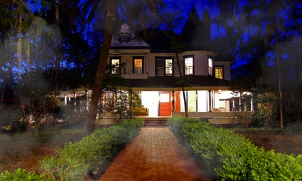 Ghost Tour and Hors D'oeuvres for One or Two at The Daffodale Estate (52% Off)