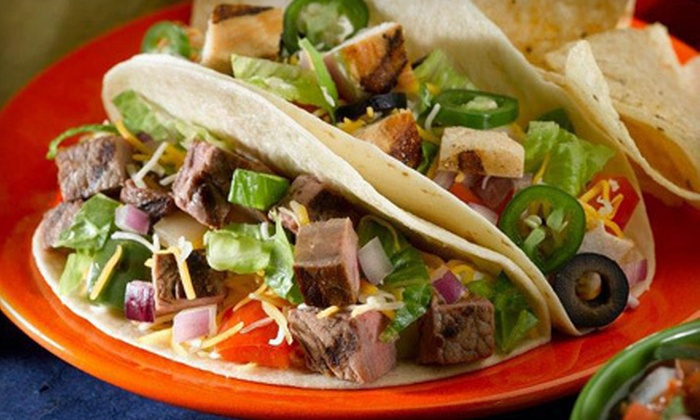 Salsaritas Fresh Cantina - Greenbrier West: $10 for a Mexican Meal for Two at Salsaritas Fresh Cantina ($20.94 Value)