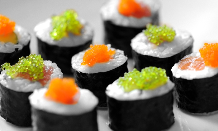 Nhinja Sushi and Wok - Nhinja Sushi: $12 for $20 Worth of Sushi and Stir-Fry at Nhinja Sushi and Wok TULSA
