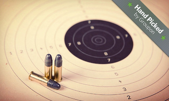 Silver Eagle Group - Beaumeade: $74 for Shooting-Range Package with Instruction, Gun, and Ammo for Up to Three at Silver Eagle Group (Up to $166 Value)