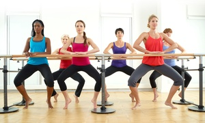 Xcel Fitness: 10 XF Total Barre Classes or One Month of Unlimited XF Total Barre Classes with Gym Access at Xcel Fitness (Up to 77% Off)