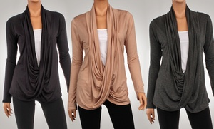 3-Pack of Women's Criss-Cross Cardigans