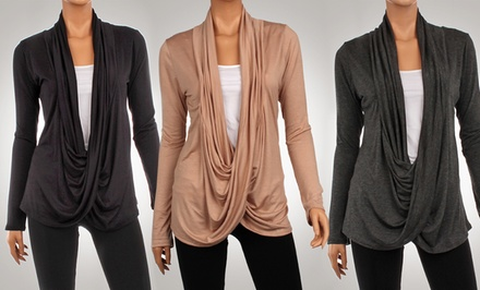 3-Pack of Women's Criss-Cross Cardigans in Assorted Colors
