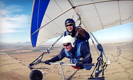 $119 for Tandem Discovery Hang-Gliding Flight at Sonora Wings Hang Gliding ($250 Value)