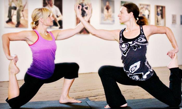 Lotus Yoga, Wellness & Gallery - Fort Wayne: 5, 10, or 20 Yoga Classes at Lotus Yoga, Wellness & Gallery (Up to 59% Off)