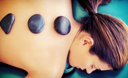 60 or 75 minute massage the lotus spa groupon for 33 fingers salon groupon