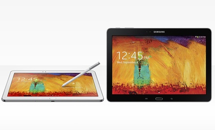 "groupon daily deal - Samsung Galaxy Note 10.1"": 2014 Edition (Manufacturer Refurbished). 16GB or 32GB from $369.99–$394.99. Free Returns."