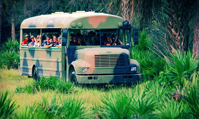Babcock Wilderness Adventures - Punta Gorda: Wilderness Eco-Tour for One, Two, or Four at Babcock Wilderness Adventures (Up to 64% Off)
