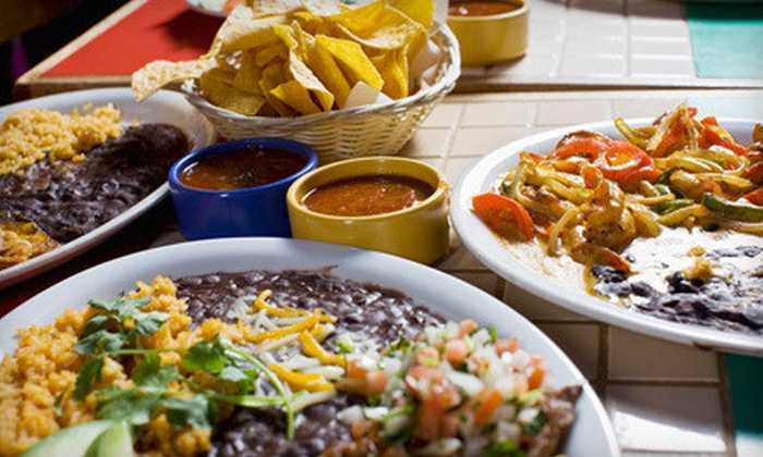 Real De Minas - Multiple Locations: $15 for $30 Worth of Mexican Food and Drinks for Lunch or Dinner at Real De Minas