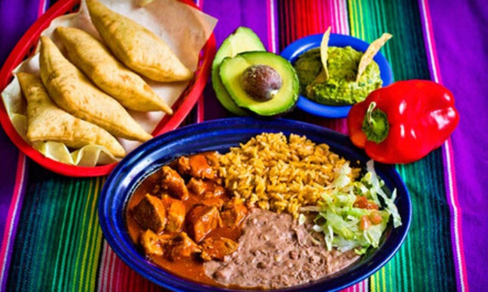 Garcia's Kitchen - Multiple Locations: $8 for $16 Worth of New Mexican Cuisine and Drinks at Garcia's Kitchen