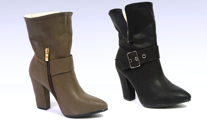Shoes of Soul Heeled Boots: Shoes of Soul Heeled Boots. Multiple Colors Available. Free Returns.