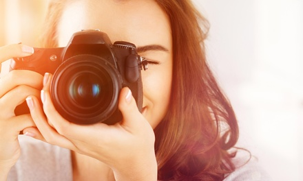30-Minute Studio Photo Shoot with Retouched Digital Images from Twin Scale Media (75% Off)
